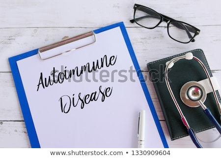 the diagnosis diabetes written on a clipboard stock photo © zerbor