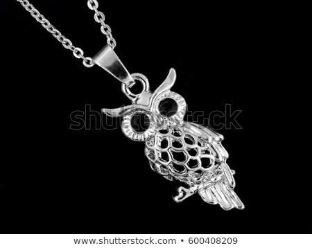 owl jeweled Stock photo © Karamio