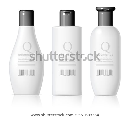 glue plastic white bottle stock photo © ozaiachin