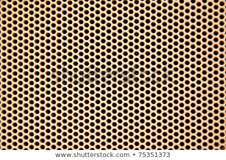Black textured plastic grid with squares and circles Stock photo © Zebra-Finch