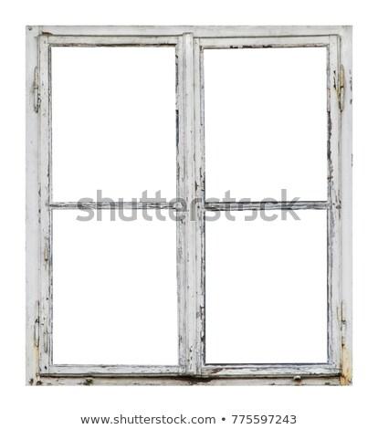 мнение старые окна кирпичная стена солнце Сток-фото © MichaelVorobiev