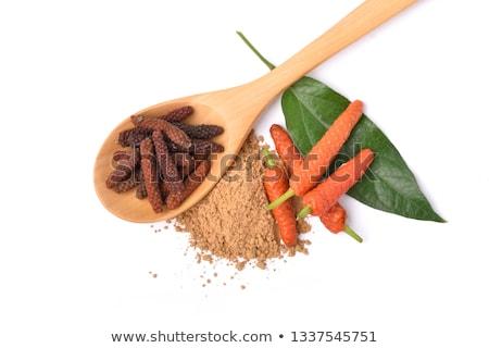 długo · indonezyjski · pieprz · żywności · tle · kolor - zdjęcia stock © ziprashantzi