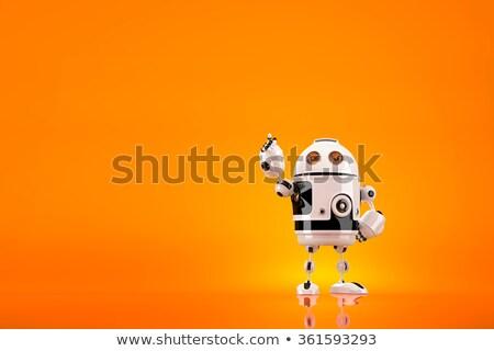 posa · business · robot · tecnologia · computer - foto d'archivio © kirill_m