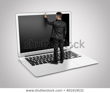kleine · bedrijven · voordeel · vertragen · reusachtig · slaan - stockfoto © ra2studio