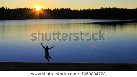 Skinny Dipping stock photo © iconify