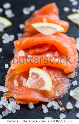 Salmon starter Stock photo © Digifoodstock