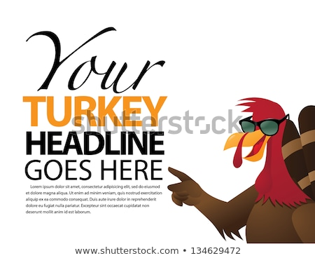 happy thanksgiving day template background eps 8 stock photo © beholdereye