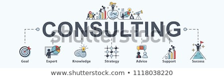 Management Consulting Symbol Stock photo © Lightsource