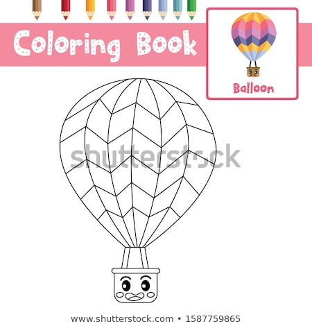 balloon card clip art