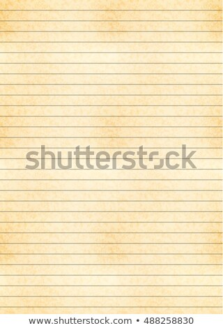 a4 size yellow sheet of old paper with one centimeter grid stock photo © Evgeny89
