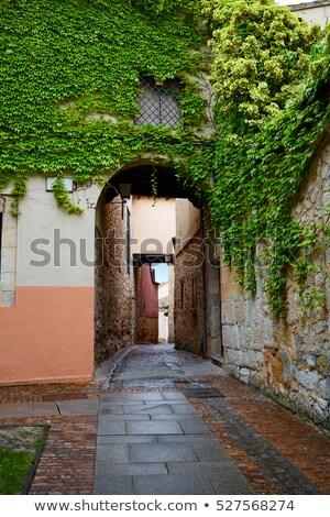 улице арки Испания город путешествия каменные Сток-фото © lunamarina