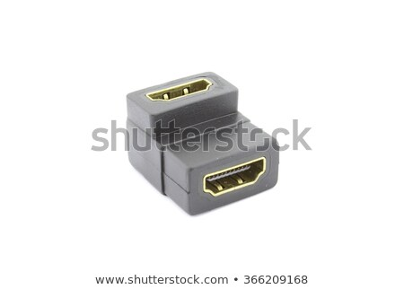HDMI female to female adapter 90 degrees Stock photo © clarion450