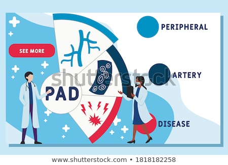 Leg artery disease, Atherosclerosis Stock photo © Tefi