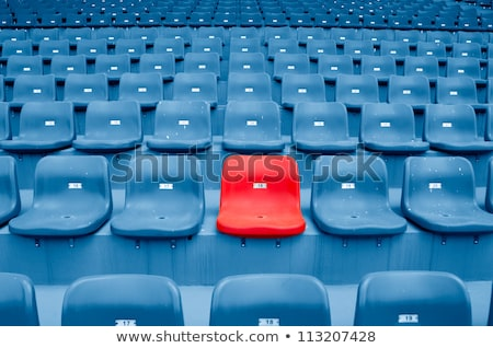 Stadium Seats Section Stock photo © albund