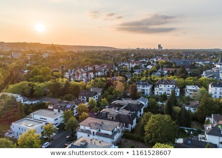 aerial of typical street in Bonn, the former capital of Germany Stock photo © meinzahn