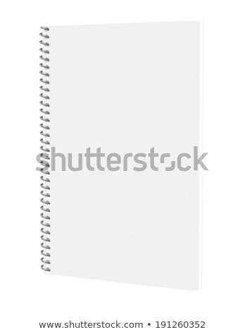 Coil bound notebook  Stock photo © oblachko