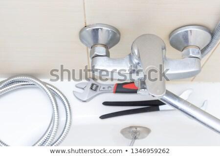 Kulcsok kreatív csendélet tarka csetepaté ahogy Stock fotó © Fisher