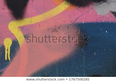 graffiti speckled space background in blue yellow Stock photo © Melvin07