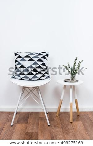 Simples decoração objetos branco interior Foto stock © manera
