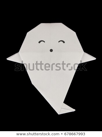 Kind ghost of origami Stock photo © brulove