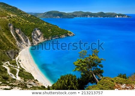 um · belo · praias · ilha · panorâmico · ver - foto stock © Freesurf