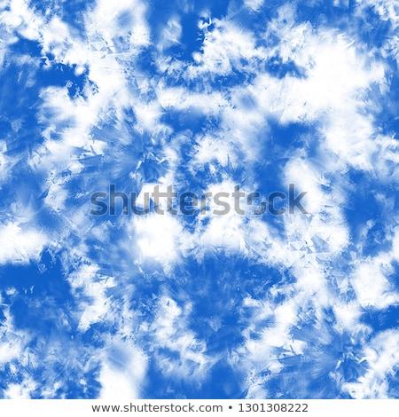seamless pattern with blue clouds stock photo © balasoiu