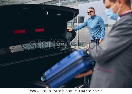 Auto man stedelijke pak kleur Stockfoto © IS2