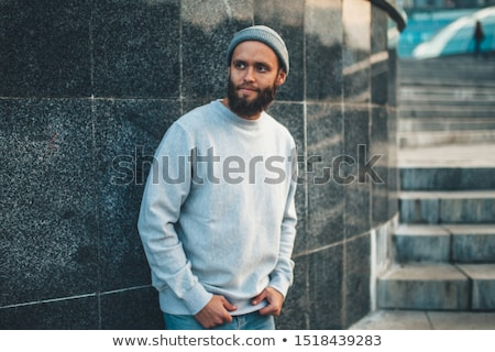 Man Wearing Hoody Stock photo © IS2
