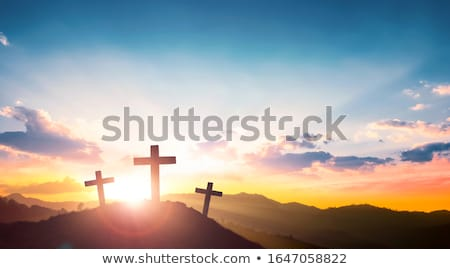 he is risen Stock photo © nenovbrothers