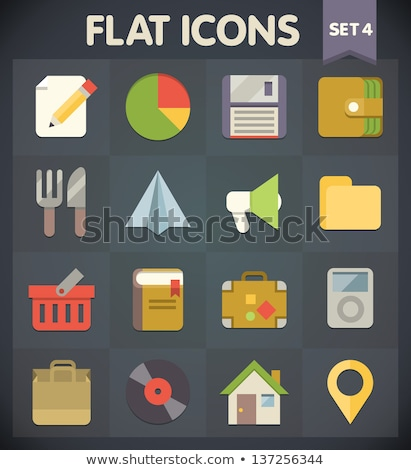 Stockfoto: Iconen · vector · ingesteld · spel · collectie