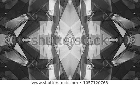 ストックフォト: 抽象的な · 幾何学的な · 明るい · 万華鏡 · パターン · サークル
