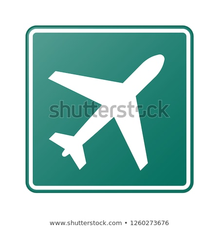 airport road sign stock photo © monkey_business