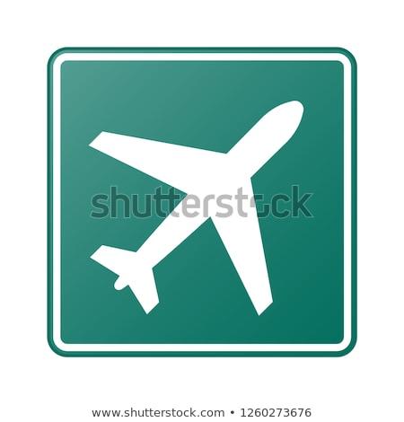 geen · voetganger · toegestaan · teken · verkeersbord - stockfoto © monkey_business