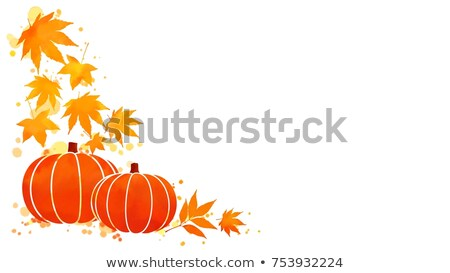 Stock photo: Halloween stencil on the white background