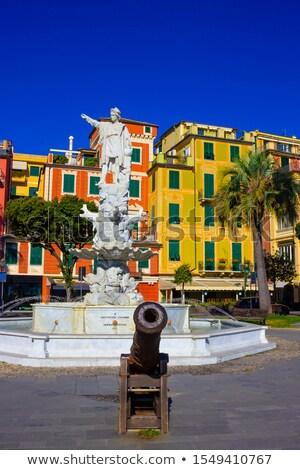 サンタクロース イタリア 像 大理石 彫刻 表示 ストックフォト © boggy