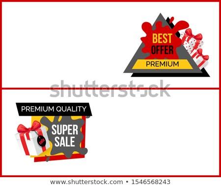 verkoop · prijs · element · geschenk - stockfoto © robuart