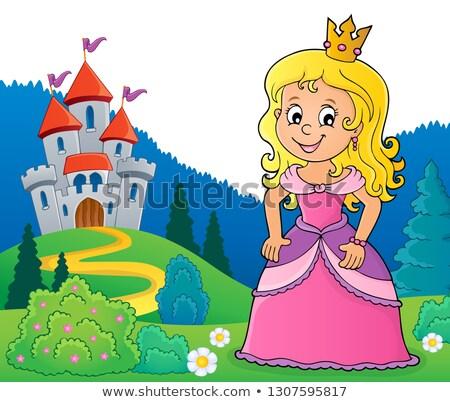 princess topic image 2 stock photo © clairev