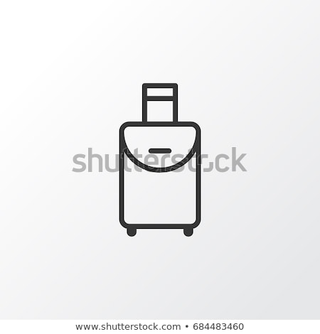 Luggage Journey for Traveler with Bag Icon Vector Stock photo © robuart
