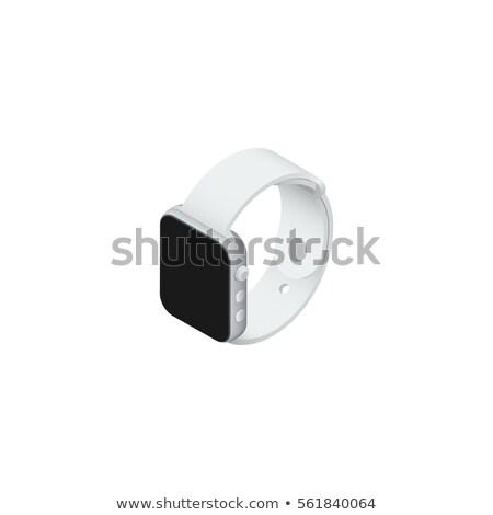 Stockfoto: Nieuwe · toekomst · horloge · 3d · illustration · vintage