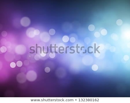 Stock photo: Blue Bokeh Abstract Light Background