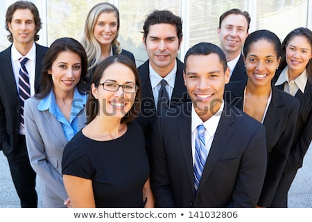 Multi Ethnic Business People In Meeting Stock photo © AndreyPopov