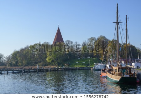 the old church in kirchdorf on the island of poel stock photo © lianem