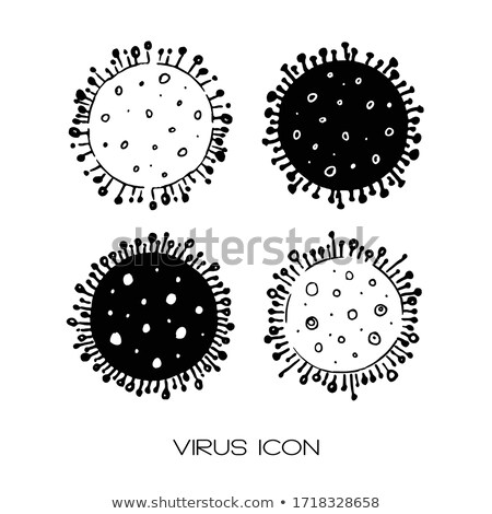 Collection Pathogen Elements Vector Sign Icons Set Stock photo © pikepicture