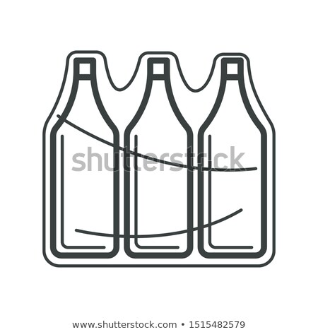 eco recycle vacuum package packaging vector icon stock photo © pikepicture