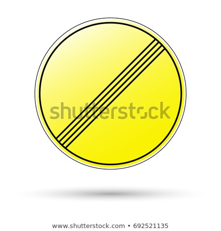 Variants a End of all restrictions - road sign Stock photo © boroda