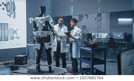 инновационный робота помочь люди фон искусства Сток-фото © jossdiim