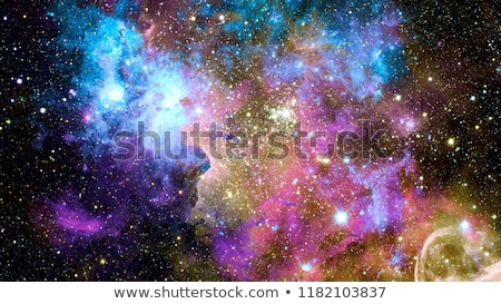 Nebula and galaxies in deep space. Elements of this image furnished by NASA. Stock photo © NASA_images