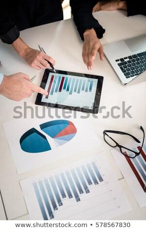 ビジネス 作業 データ ストックフォト © sgursozlu