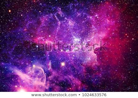 галактики аннотация пространстве Элементы изображение свет Сток-фото © NASA_images