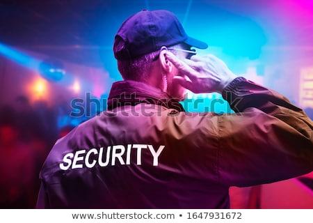 Masculina seguridad oficial club nocturno Foto stock © AndreyPopov